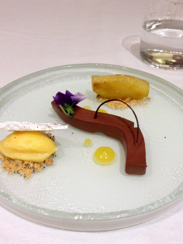 St James Court Hotel - London Food Blog - Dessert plate