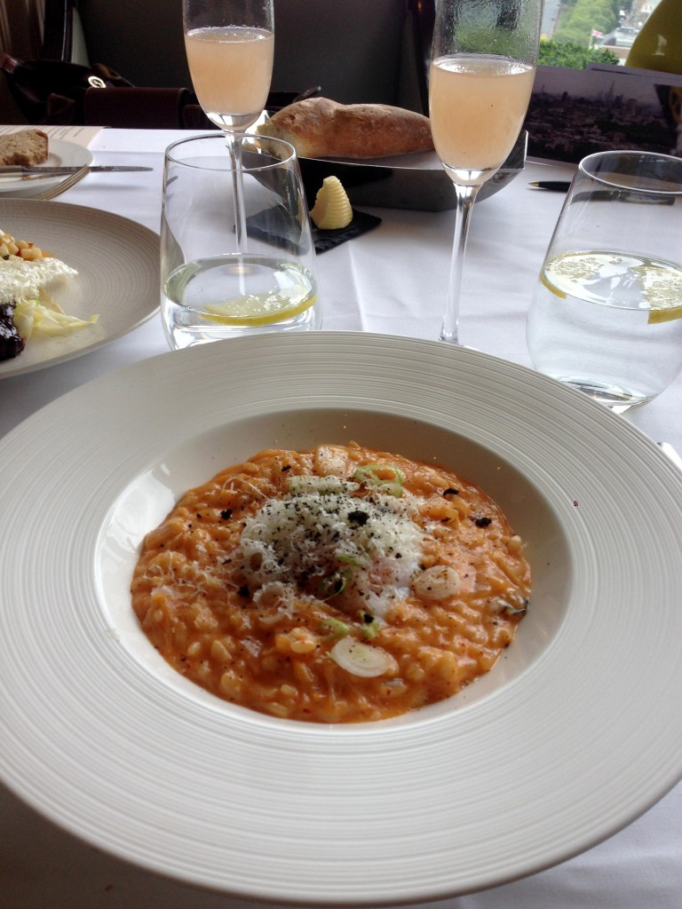 Galvin at Windows - London Food Blog - Kimchee risotto