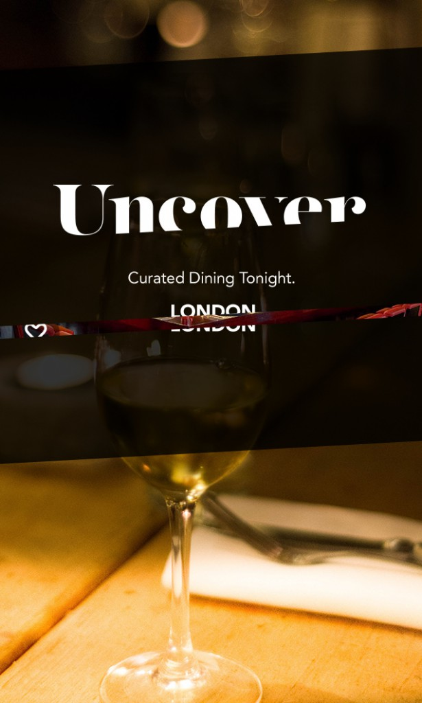Uncover app - London food blog