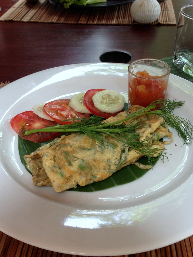 3 Nagas - London Food Blog - Laotian omelette