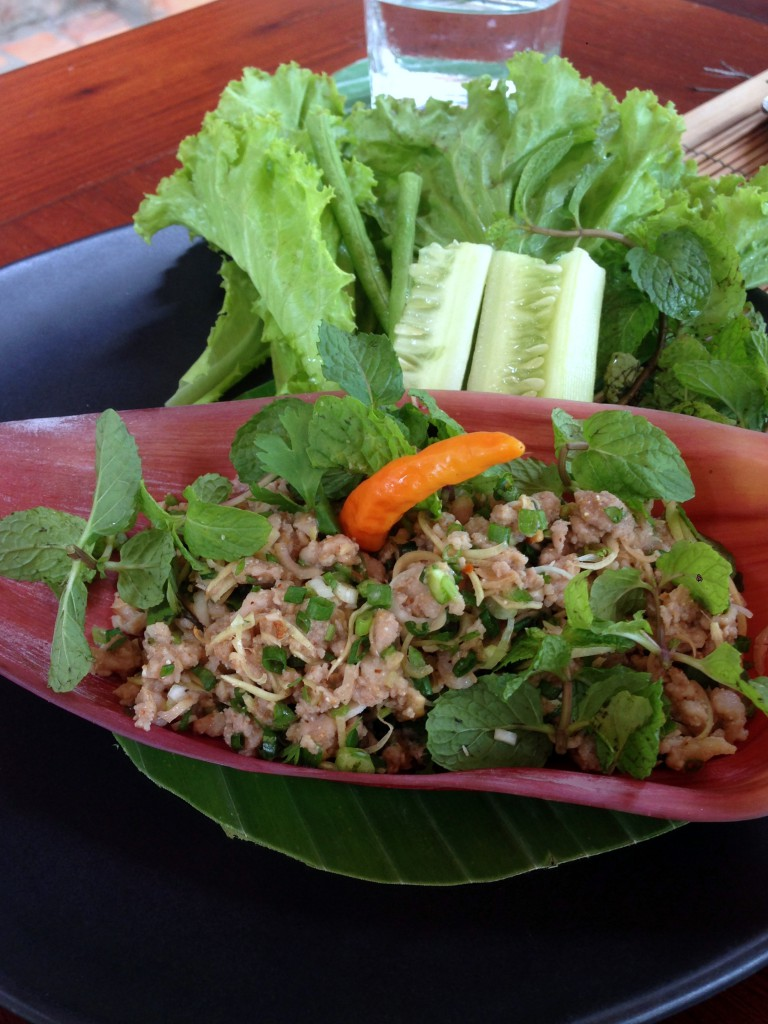 3 Nagas - London Food Blog - Minced pork