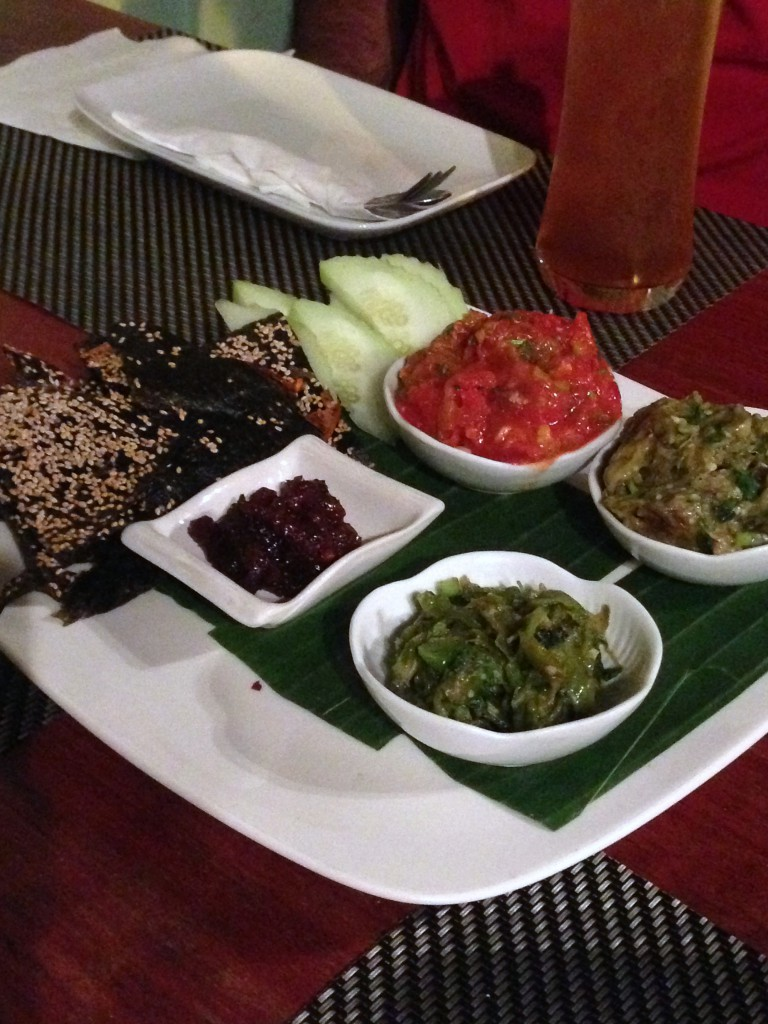 Tamarind Restaurant - London Food Blog - Laotian dips
