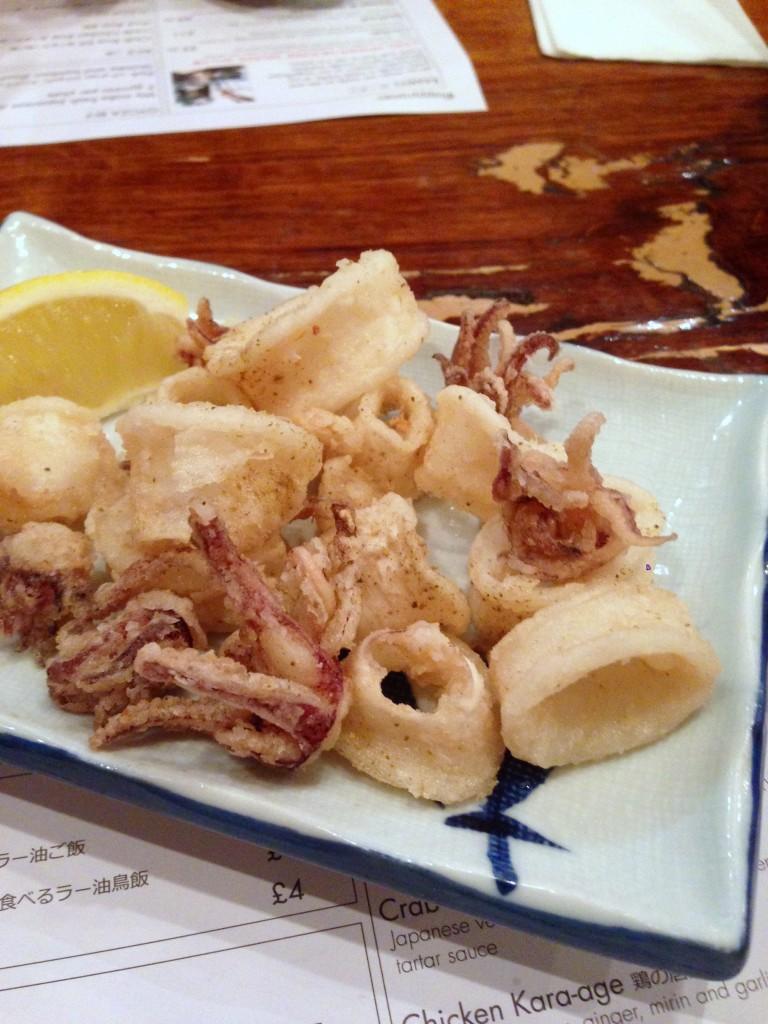 Tonkotsu - London Food Blog - Salt & sansho pepper squid