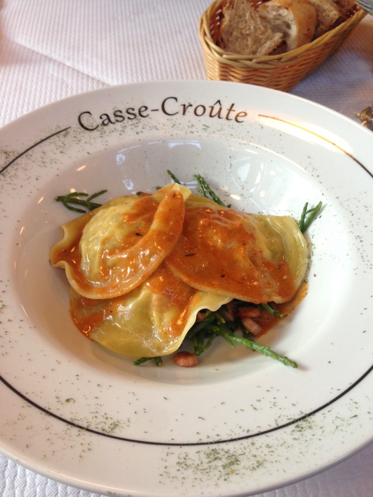 Casse-Croute - London Food Blog - Crab ravioli