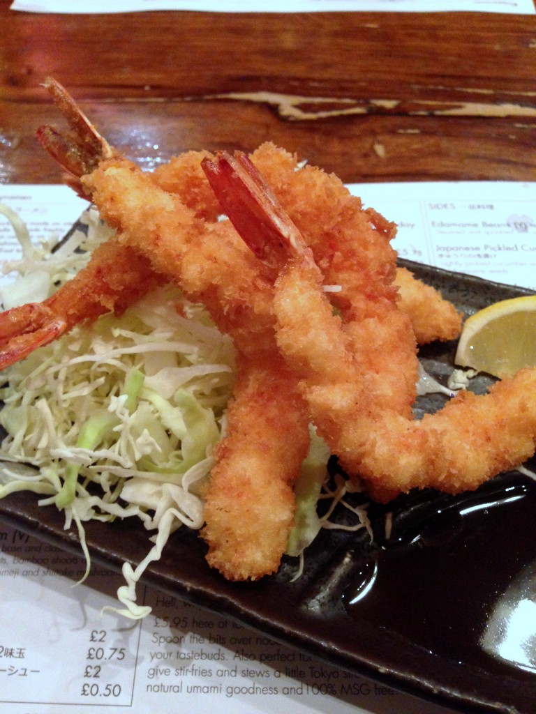 Tonkotsu - London Food Blog - Prawn katsu