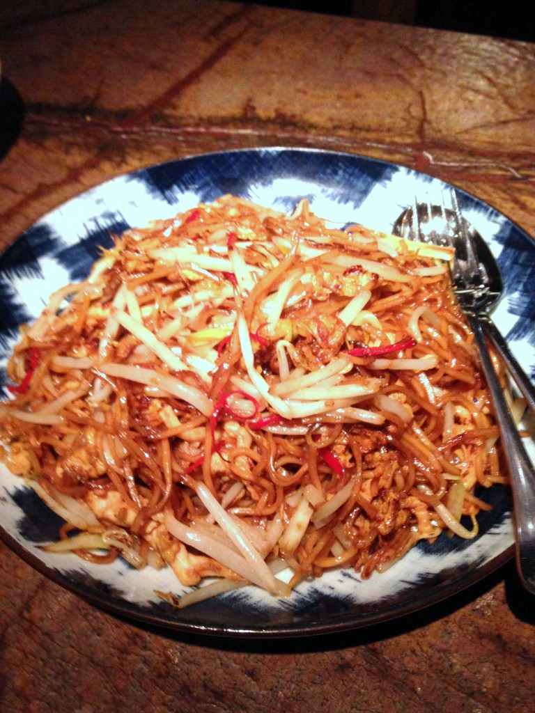 The Duck and Rice - London Food Blog - No23 Chicken chow mein