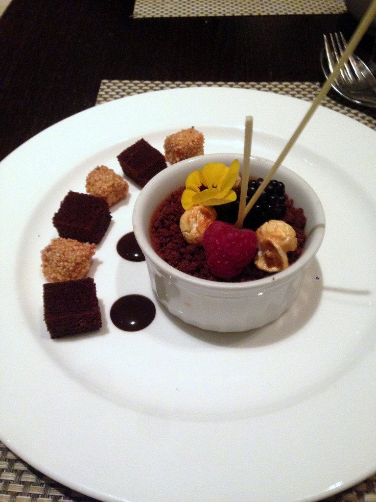 Flavours of Mexico - London Food Blog - Mole mousse