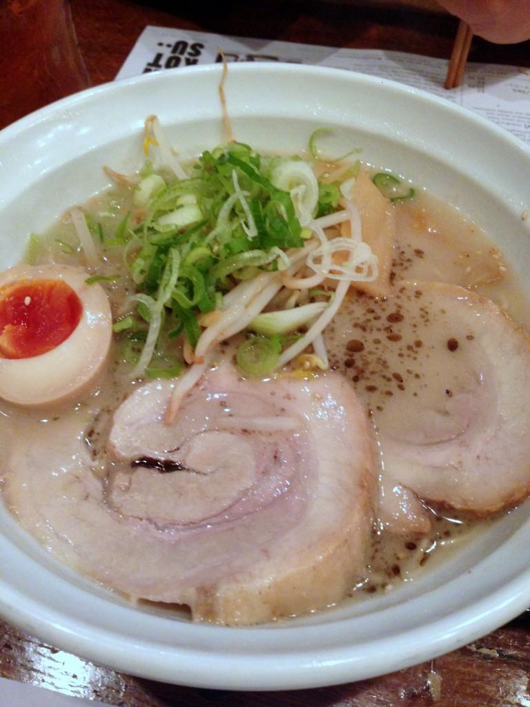 Tonkotsu - London Food Blog - Tonkotsu ramen