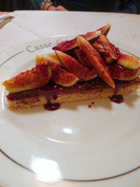 Casse-Croute - London Food Blog - Fig tart