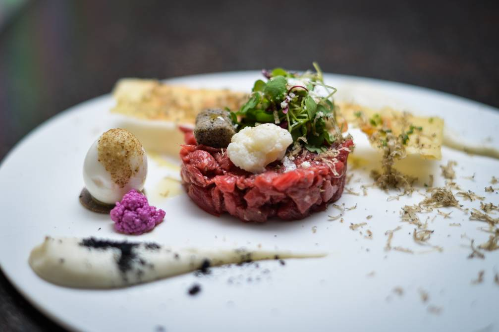 Menabrea at L'Anima - London Food Blog - Beef tartare