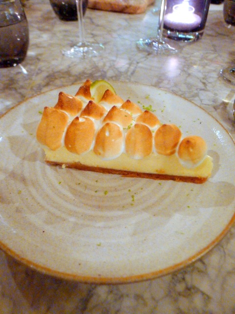 Percy and Founders - London Food Blog - Key lime pie