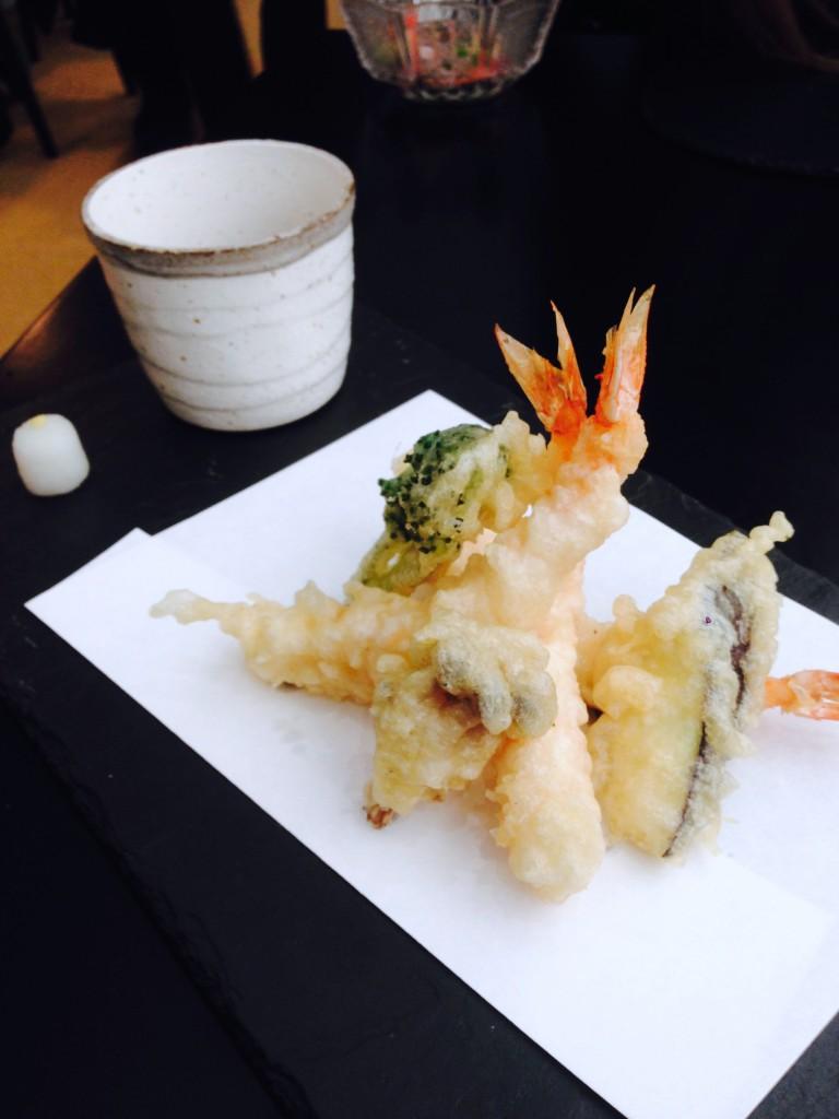 Umu Japanese Restaurant - London Food Blog - Tempura
