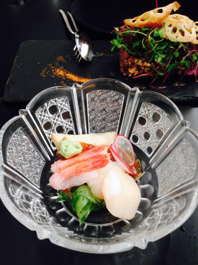 Umu Japanese Restaurant - London Food Blog - Seafood salad