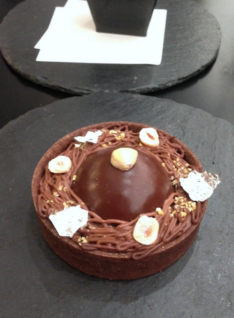 Umu Japanese Restaurant - London Food Blog - Chocolate tart