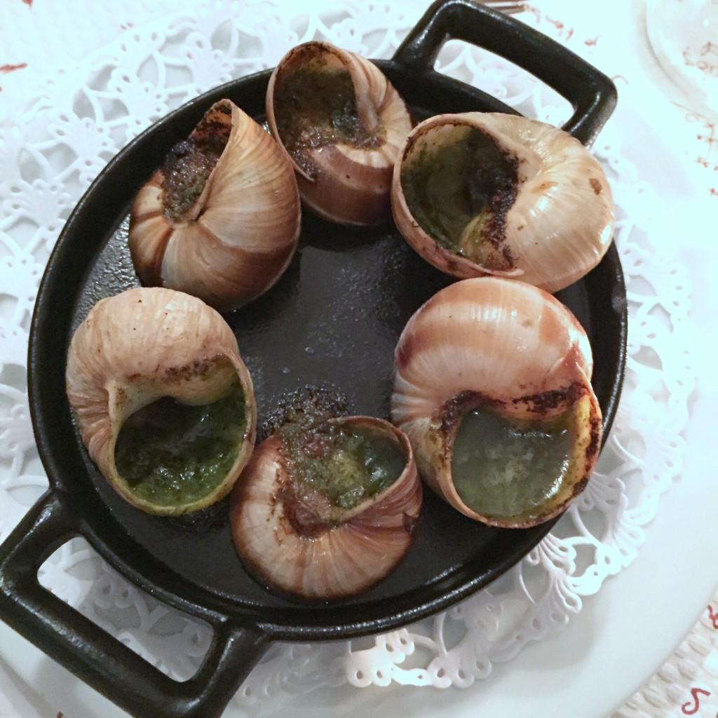 Les Gourmets des Ternes - London Food Blog - Escargot