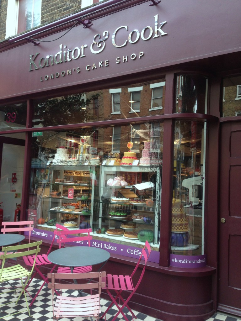 Konditor & Cook - London Food Blog - Goodge Street Branch