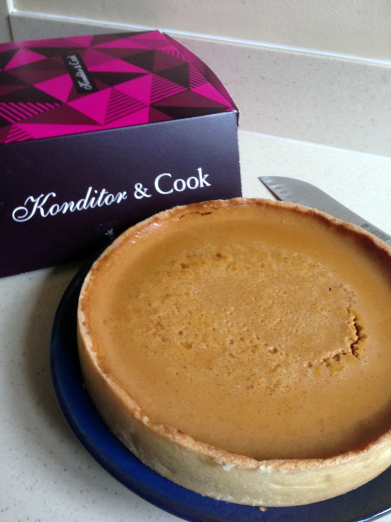 Konditor & Cook - London Food Blog - Pumpkin pie