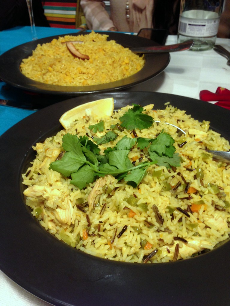 Tilda Curry Supper Club - London Food Blog - Khichri & pulao