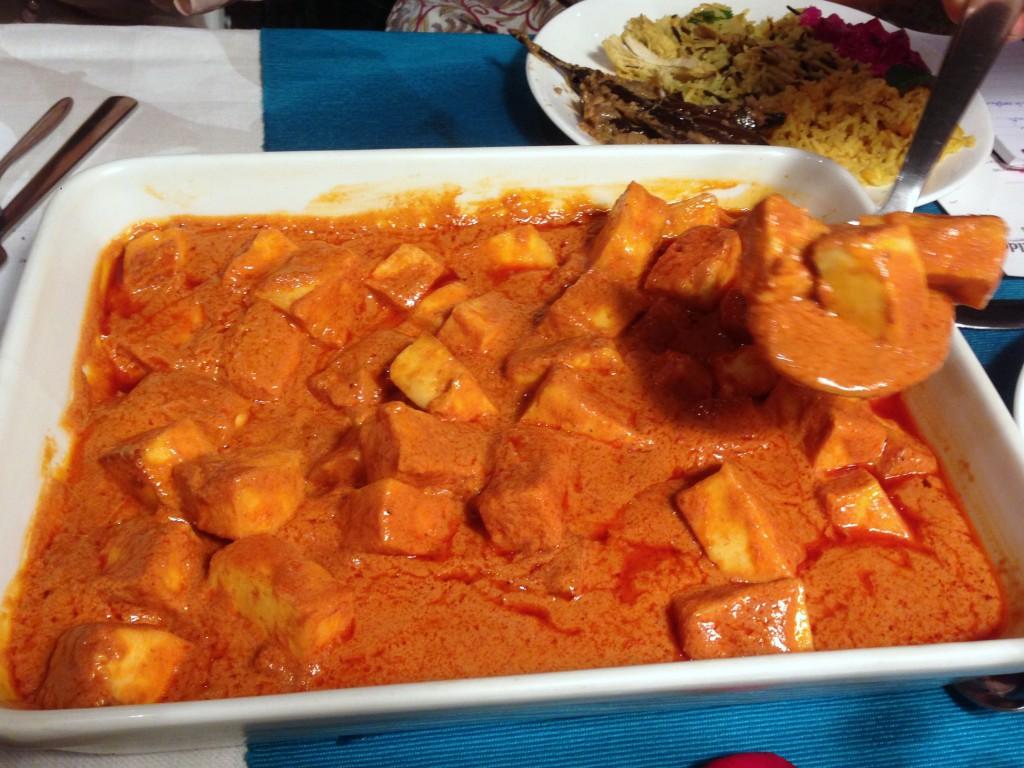 Tilda Curry Supper Club - London Food Blog - Paneer