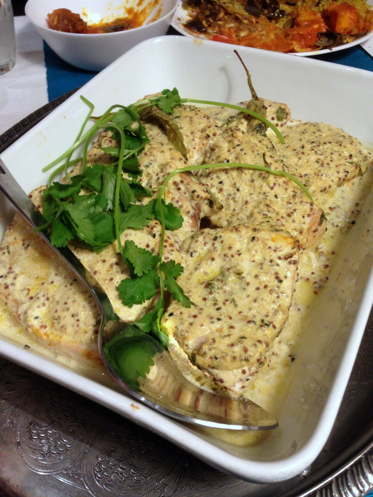 Tilda Curry Supper Club - London Food Blog - Swordfish