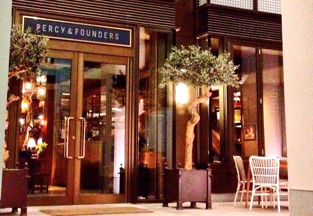 Percy and Founders - London Food Blog