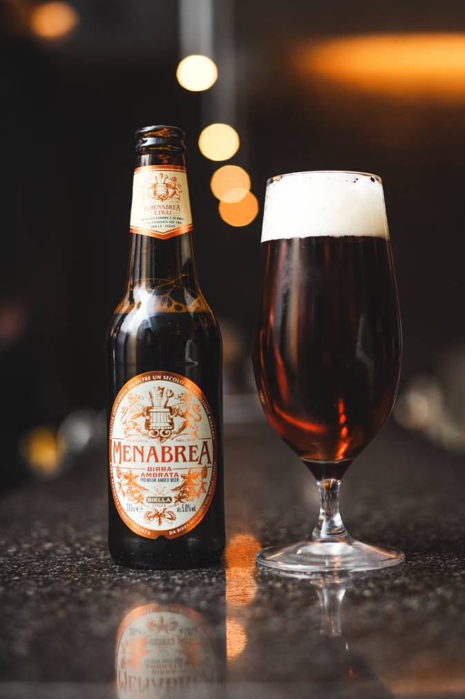 L'Anima - London Food Blog - Menabrea Beer