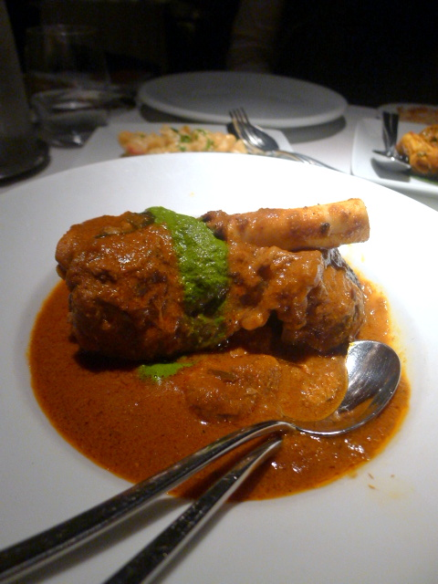 Quilon - London Food Blog - Lamb shank