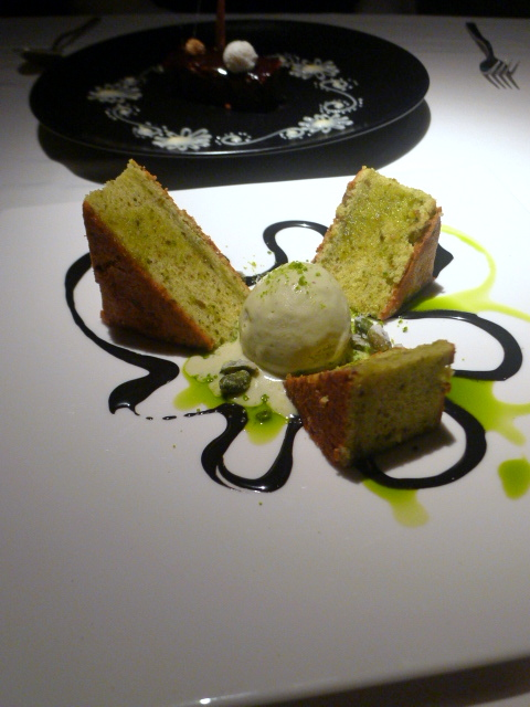 Quilon - London Food Blog - Pistachio cake