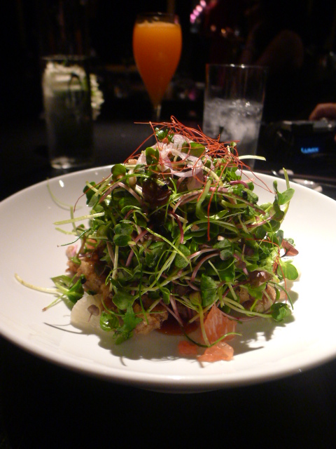 Hakkasan - London Food Blog - Crispy duck salad