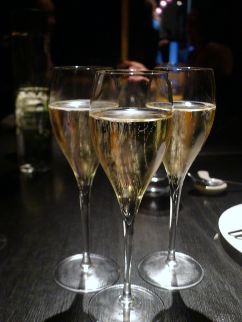 Hakkasan - London Food Blog - Louis Roederer champagne