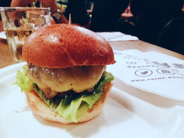 Prime Burger - London Food Blog - Prime truffle burger