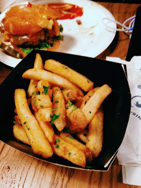 Prime Burger - London Food Blog - Garlic butter fries
