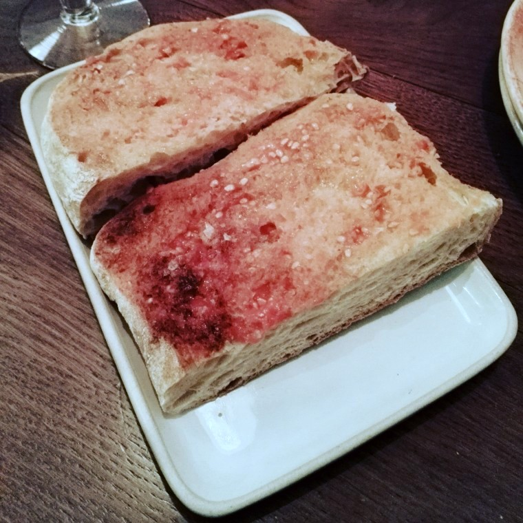 Tapas Revolution - London Food Blog - Pan con tomate