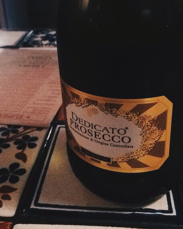 Pizza Union - London Food Blog - Prosecco
