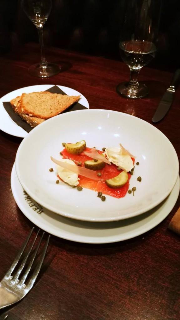 Reform Grill - London Food Blog - Salmon