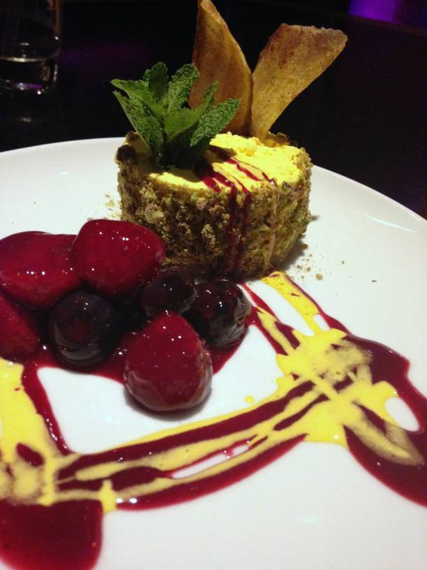Mamounia - London Food Blog - Saffron cheesecake