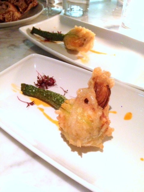 Lurra - London Food Blog -  Courgette flower