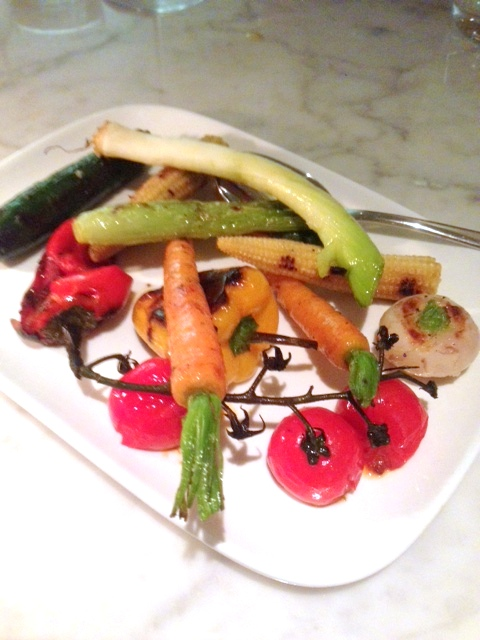 Lurra - London Food Blog -  Mixed grilled vegetables