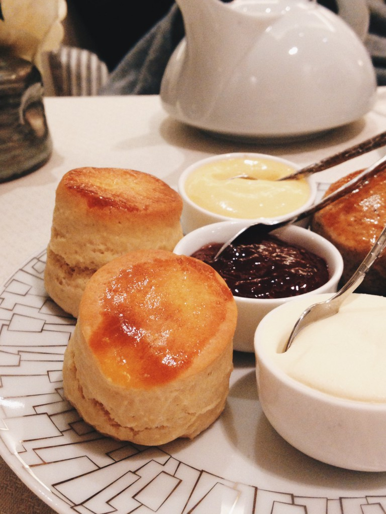 Intercontinental Hotel - London Food Blog - Scones