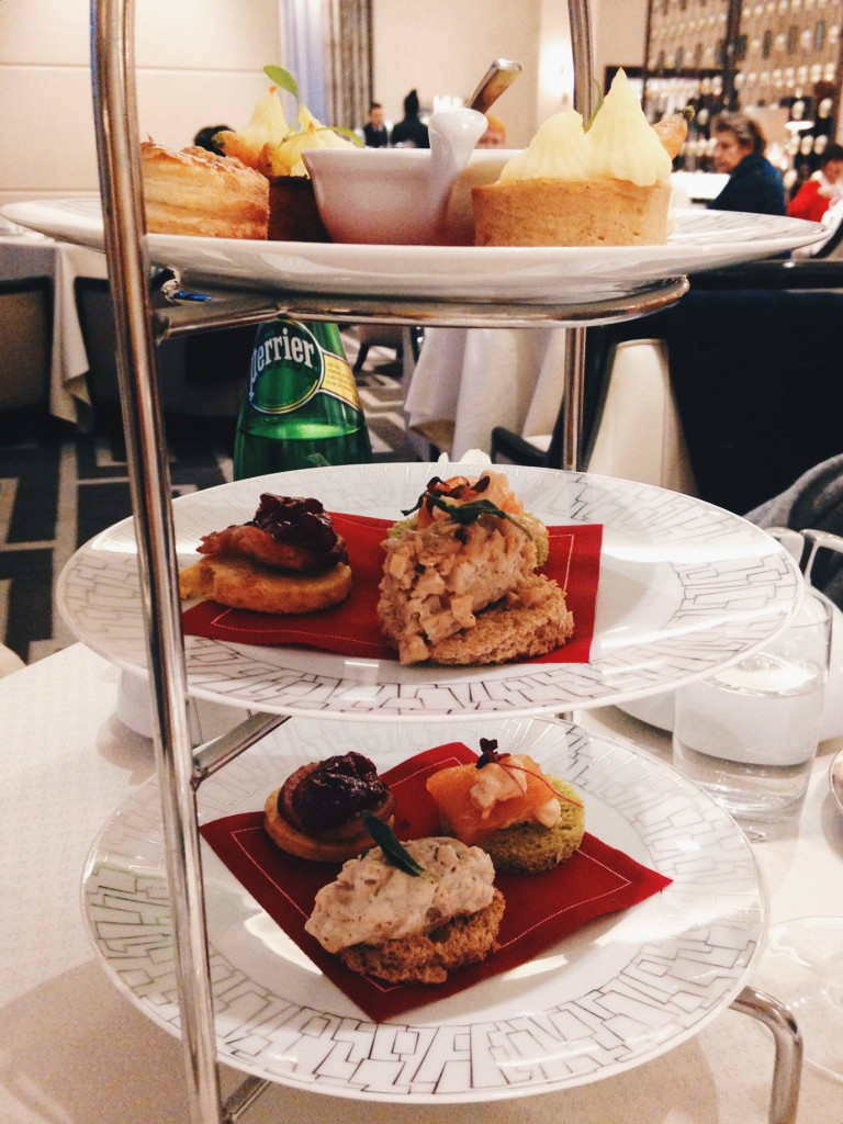Intercontinental Hotel - London Food Blog - Christmas afternoon tea