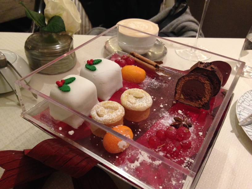 Intercontinental Hotel - London Food Blog - Desserts unboxed