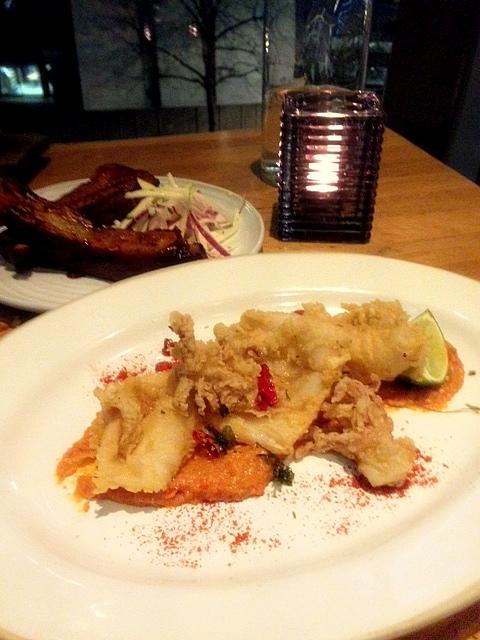 Barbecoa - London Food Blog - Crispy Calamari