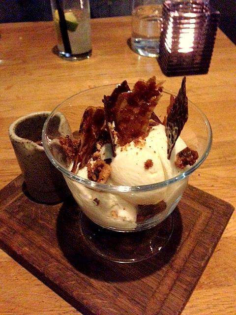 Barbecoa - London Food Blog - Pecan, Bourbon & Bacon Sundae