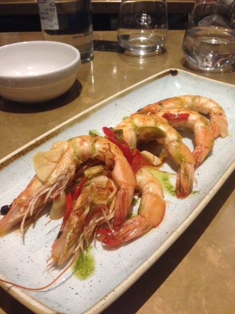 Jose Pizarro Broadgate - London Food Blog - King prawns