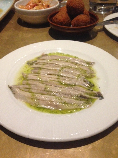 Jose Pizarro Broadgate - London Food Blog - Boquerones