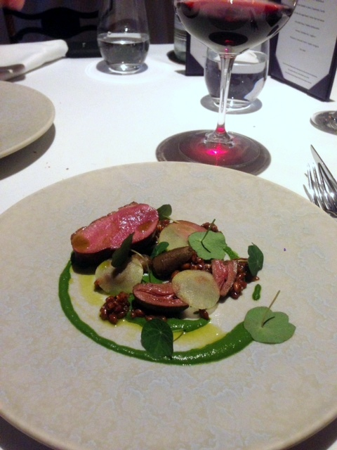 Oakley Court - London Food Blog - Savoury grains w. duck