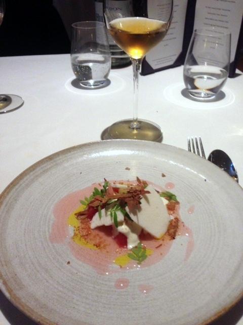 Oakley Court - London Food Blog - Rhubarb