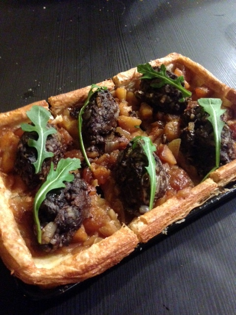 Ferdies Food Lab - London Food Blog - Morcilla & apple tart