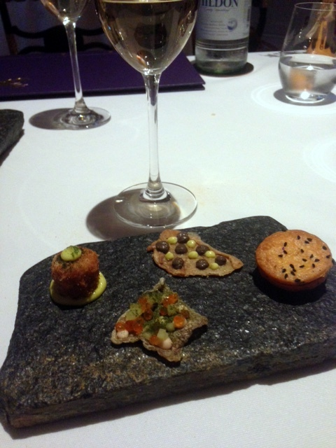 Oakley Court - London Food Blog - Canapes