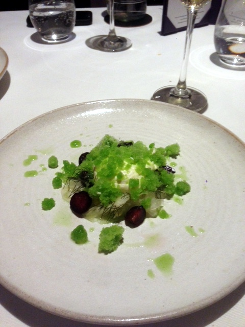 Oakley Court - London Food Blog - Fennel & yoghurt